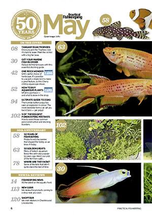 Practical Fishkeeping 2016.05 Inside