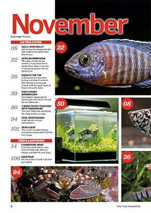 Practical Fishkeeping 2016.11 Inside