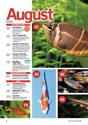 Practical Fishkeeping 2017.08 Inside