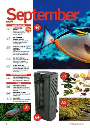 Practical Fishkeeping 2017.09 Inside