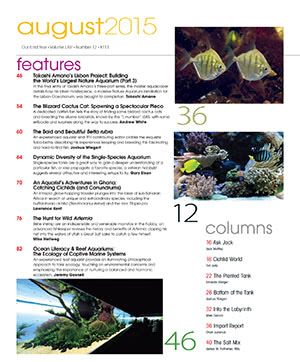 Tropical Fish Hobbyist 2015.08. #713 Inside
