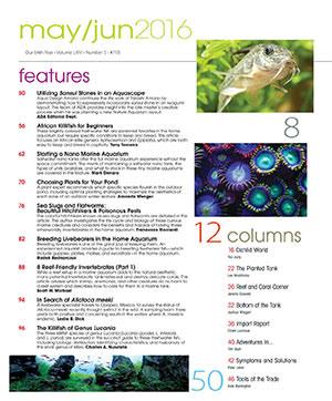Tropical Fish Hobbyist 2016.05-06. #718 Inside