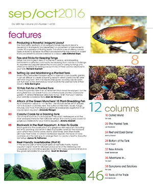 Tropical Fish Hobbyist 2016.09-10. #720 Inside