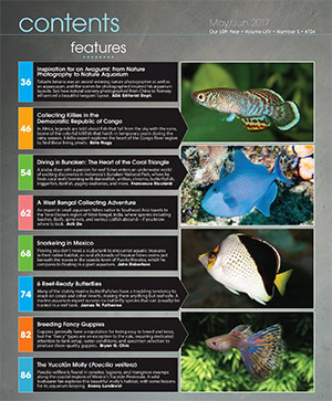 Tropical Fish Hobbyist 2017.05-06. #723 Inside