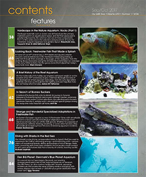 Tropical Fish Hobbyist 2017.09-10. #725 Inside